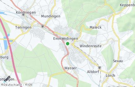 Stadtplan Emmendingen