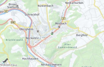 Stadtplan Neckar-Odenwald-Kreis