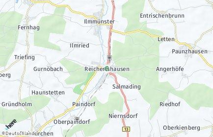 Stadtplan Reichertshausen