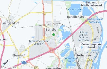Stadtplan Barleben
