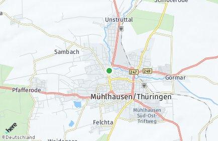 Stadtplan Unstrut-Hainich-Kreis