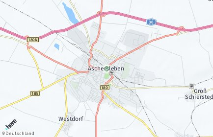 Stadtplan Aschersleben