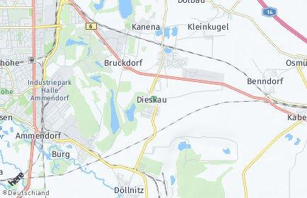 Stadtplan Kabelsketal