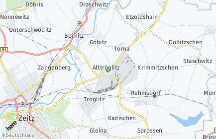 Stadtplan Elsteraue