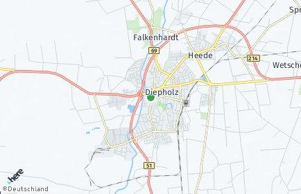 Stadtplan Diepholz