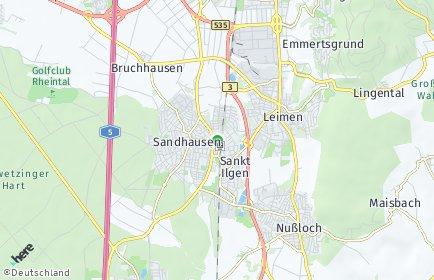 Stadtplan Rhein-Neckar-Kreis