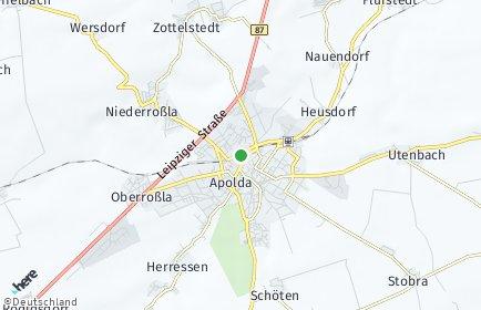 Stadtplan Weimarer Land