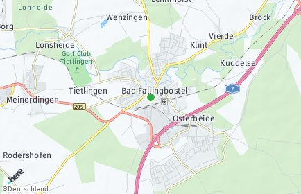 Stadtplan Heidekreis