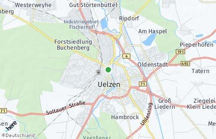 Stadtplan Uelzen