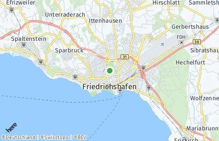 Stadtplan Bodenseekreis