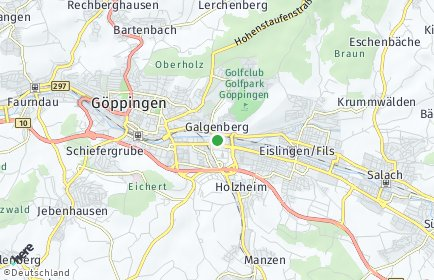 Stadtplan Göppingen