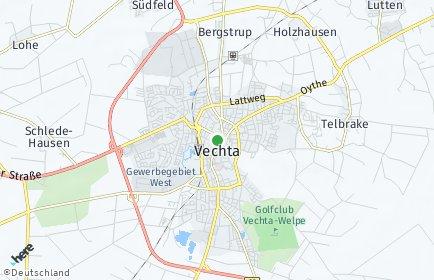 Stadtplan Vechta