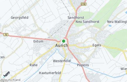 Stadtplan Aurich