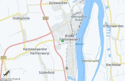 Stadtplan Wesermarsch
