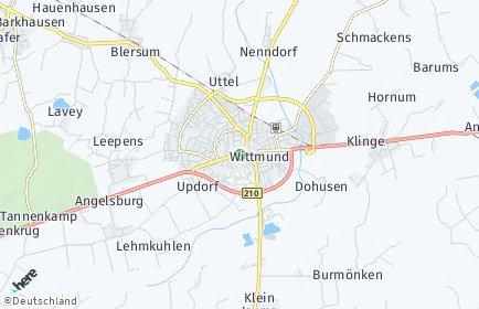 Stadtplan Wittmund