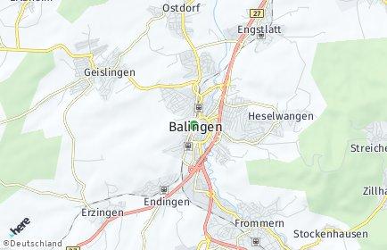 Stadtplan Zollernalbkreis