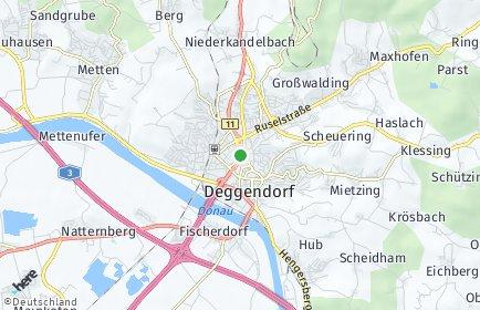 Stadtplan Deggendorf
