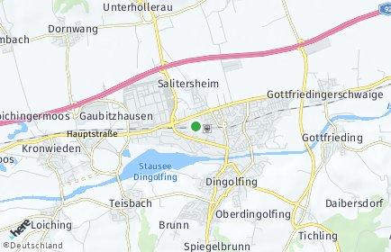 Stadtplan Dingolfing-Landau