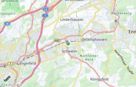 Stadtplan Ennepe-Ruhr-Kreis