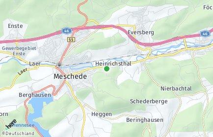 Stadtplan Hochsauerlandkreis