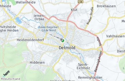 Stadtplan Lippe
