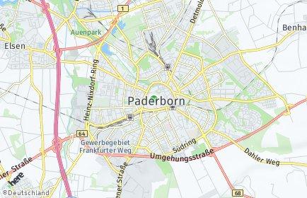 Stadtplan Paderborn