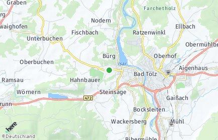 Stadtplan Bad Tölz-Wolfratshausen