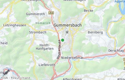 Stadtplan Oberbergischer Kreis