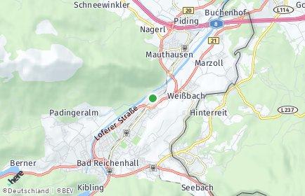 Stadtplan Berchtesgadener Land