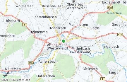 Stadtplan Altenkirchen