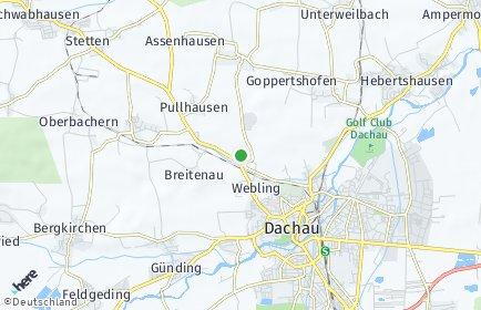 Stadtplan Dachau