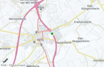 Stadtplan Alzey-Worms