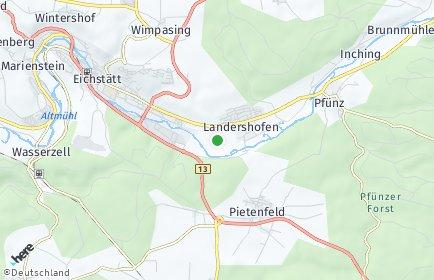 Stadtplan Eichstätt