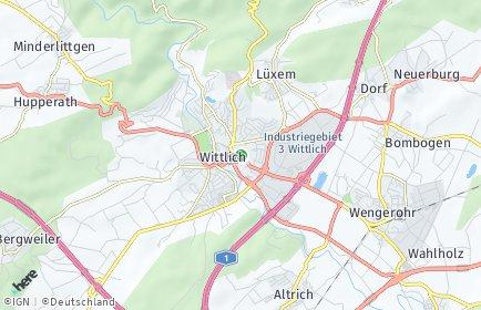 Stadtplan Bernkastel-Wittlich