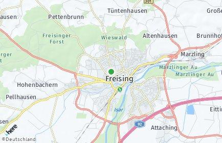 Stadtplan Freising