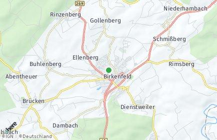 Stadtplan Birkenfeld