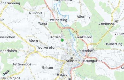 Stadtplan Traunstein