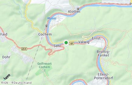Stadtplan Cochem-Zell