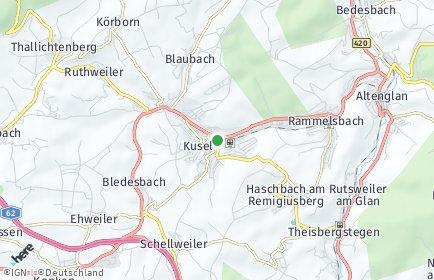 Stadtplan Kusel