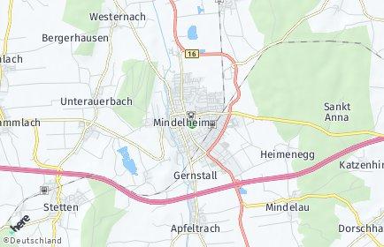 Stadtplan Unterallgäu