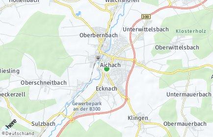 Stadtplan Aichach-Friedberg