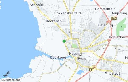 Stadtplan Nordfriesland