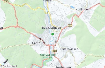 Stadtplan Bad Kissingen