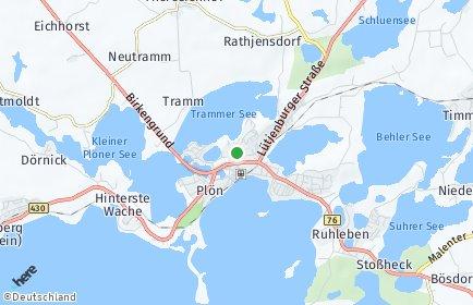 Stadtplan Plön