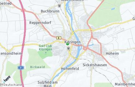 Stadtplan Kitzingen