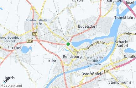 Stadtplan Rendsburg-Eckernförde