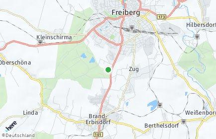 Stadtplan Mittelsachsen