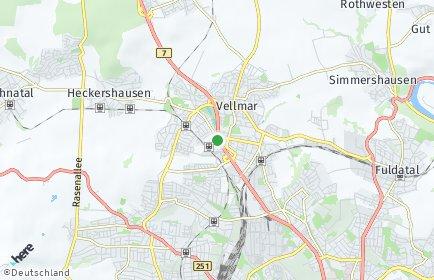 Stadtplan Kassel
