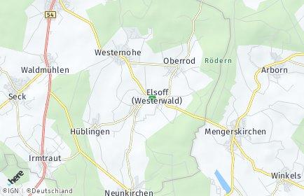 Stadtplan Elsoff