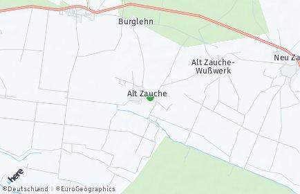 Stadtplan Alt Zauche-Wußwerk